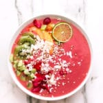 Cosmic Strawberry-Ginger-Peach Bliss Bowl