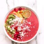 Cosmic Strawberry-Ginger-Peach Bliss Bowl