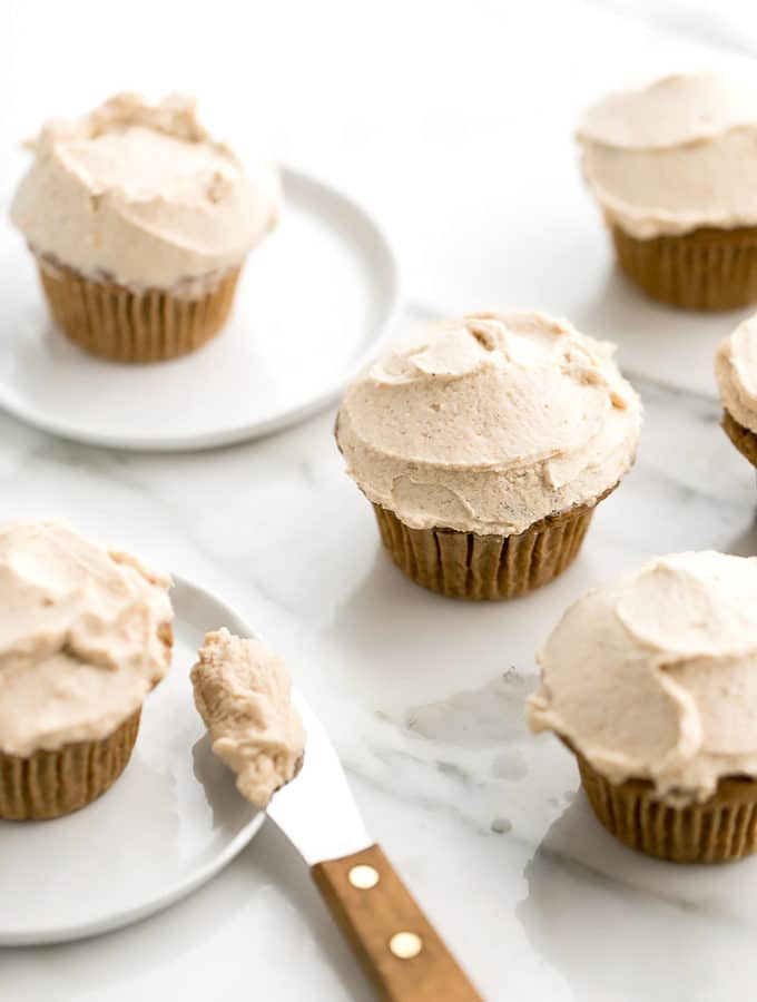 High Rise Pumpkin Cupcakes from Oh She Glows Every Day & A Giveaway!