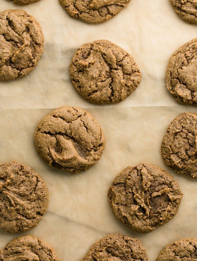 Vegan Gluten Free Pumpkin Spice Cookies
