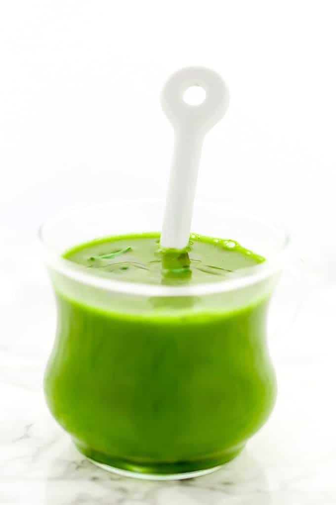 Glowing Green Immunity Broth