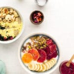 Grab-n-Go Vegan Breakfast Power Bowls Two Ways: Sweet + Savory