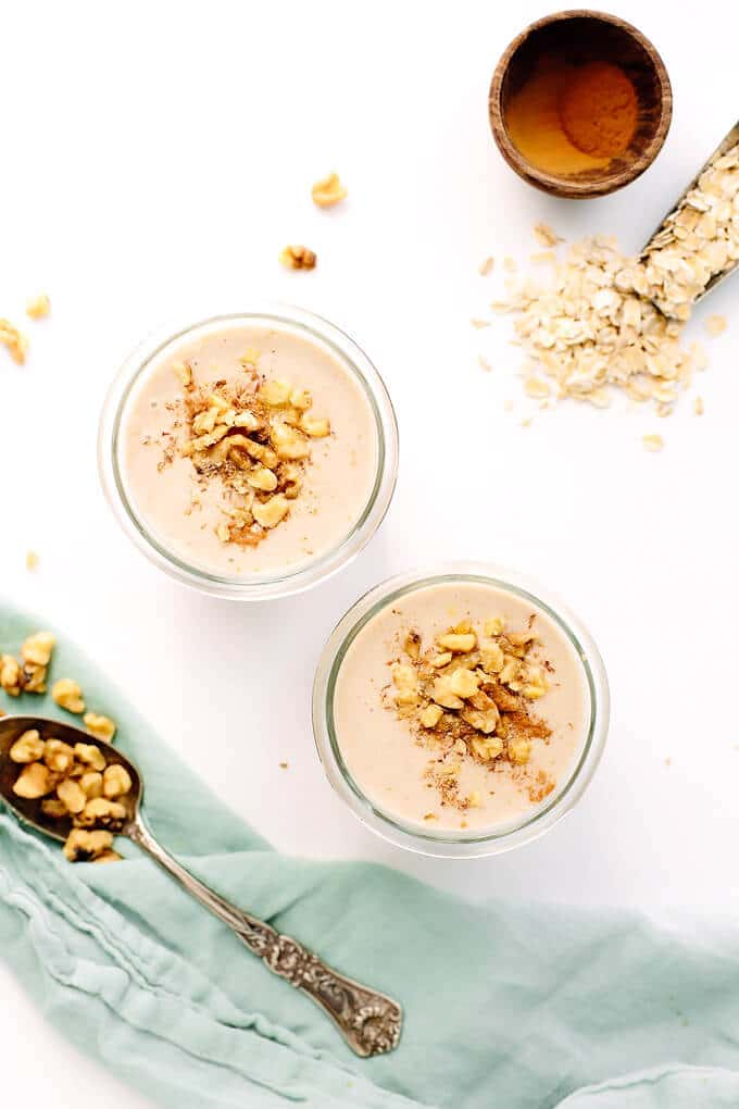 Vegan Banana Bread Smoothie