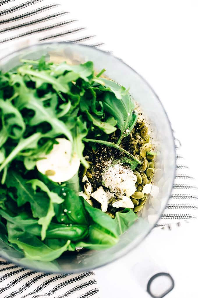 Sorghum Protein Pesto Power Salad