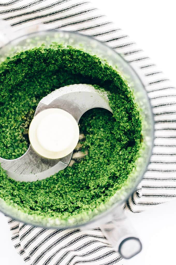 Sorghum Protein Pesto Power Salad