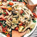 Easy Vegan Italian Pasta Salad