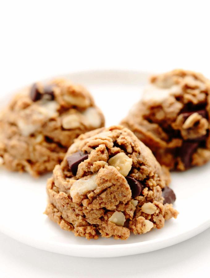 Peanut Butter Kitchen Sink Cookies | Vegan, Gluten-Free