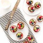 Vegan Gluten-Free Mini Fruit Tarts