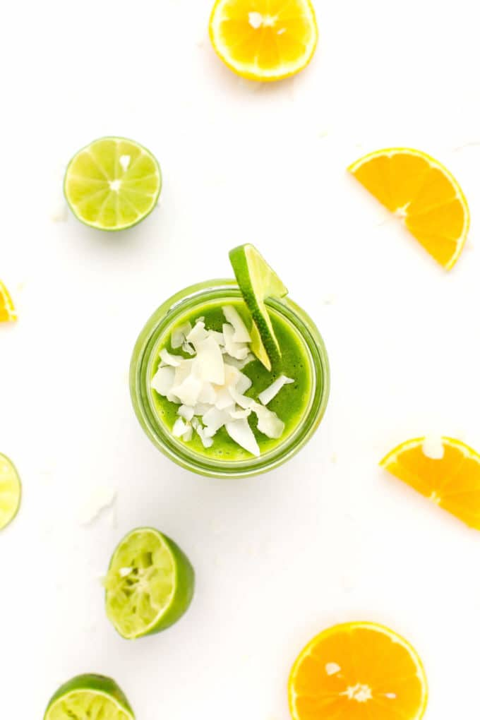 Tropical Green Power Smoothie