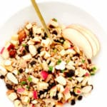 Apple Almond Farro Salad