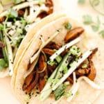 Vegan BBQ Mushroom Tacos