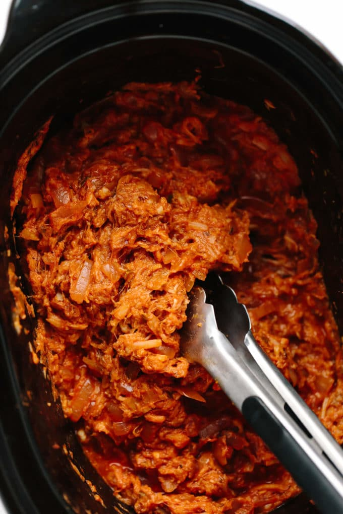 Vegan Crockpot Carnitas
