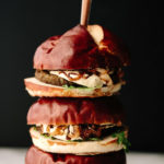 Vegan Mushroom Risotto Burgers