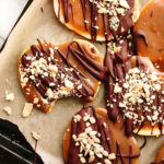 Vegan Chocolaty Caramel Apple Slices