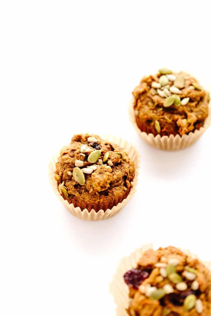Vegan Pumpkin Power Muffins