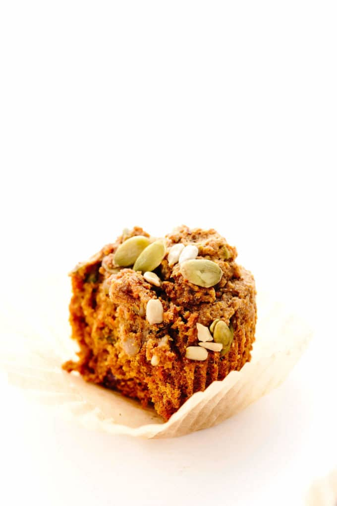 Vegan Pumpkin Power Muffins