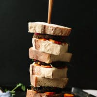 Vegan Fall Harvest Sandwich