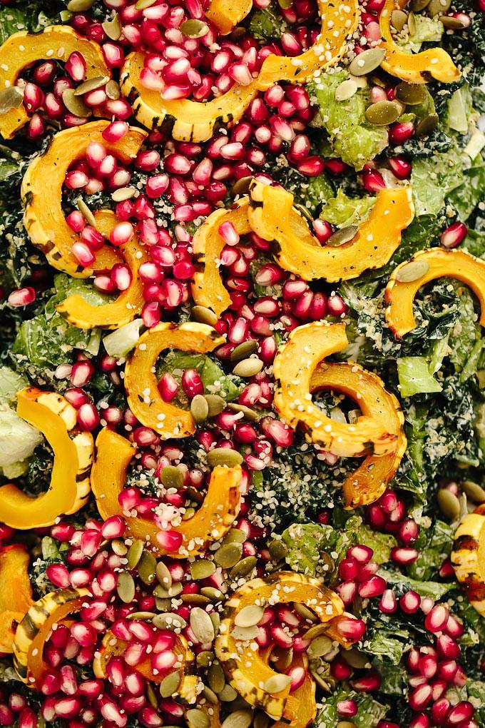Best Festive Vegan Caesar Salad