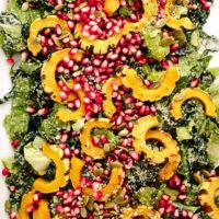 Festive Vegan Caesar Salad