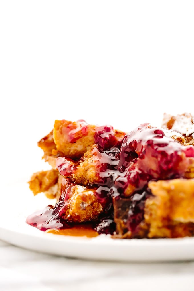 Vegan Sweet Potato French Toast Casserole