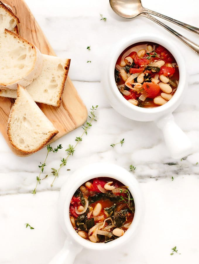Vegan Tuscan Kale White Bean Stew