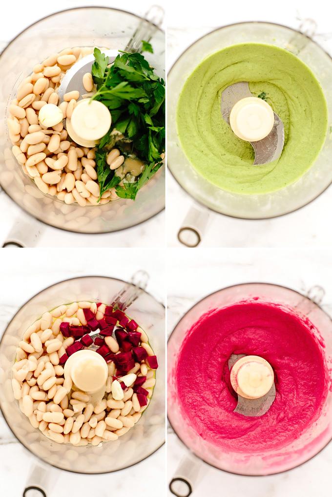 Vegan Holiday Hummus Platter
