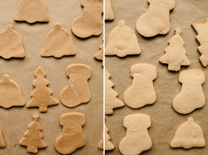 Vegan Gluten Free Iced Holiday Shortbread Cookies
