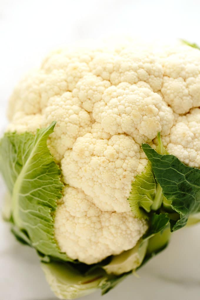 Roasted Cauliflower Shiitake Salad