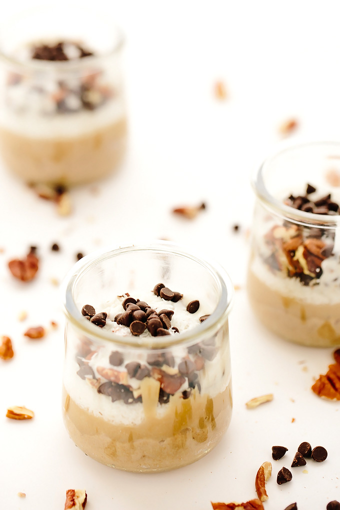 Vegan Tahini Magic Parfaits