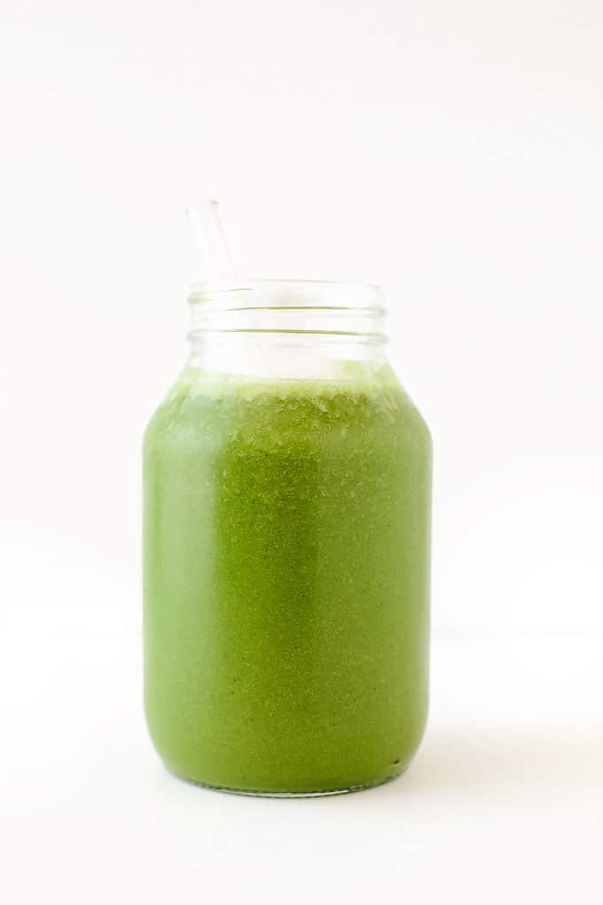 My Favorite Green Protein Smoothie