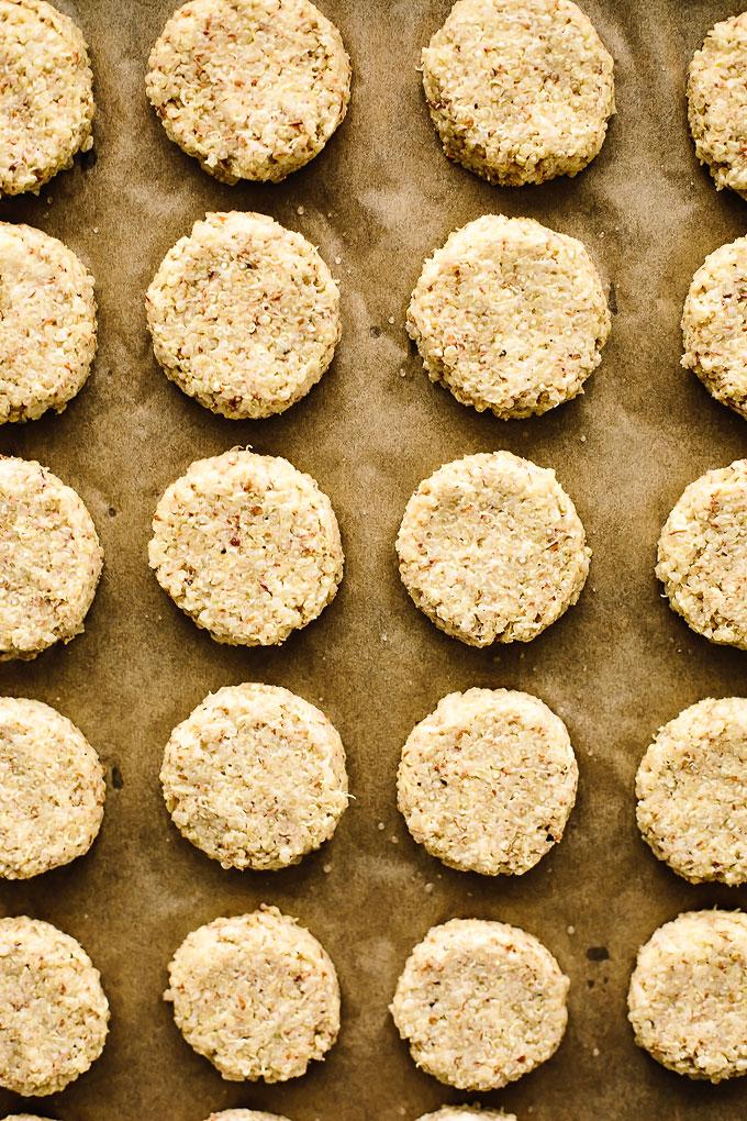 Baked Vegan Quinoa Hash Browns