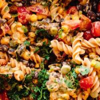 Southwest Vegan Pasta Salad