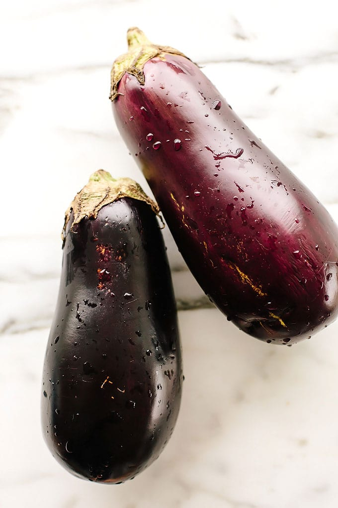 Roasted Sesame-Garlic Eggplant