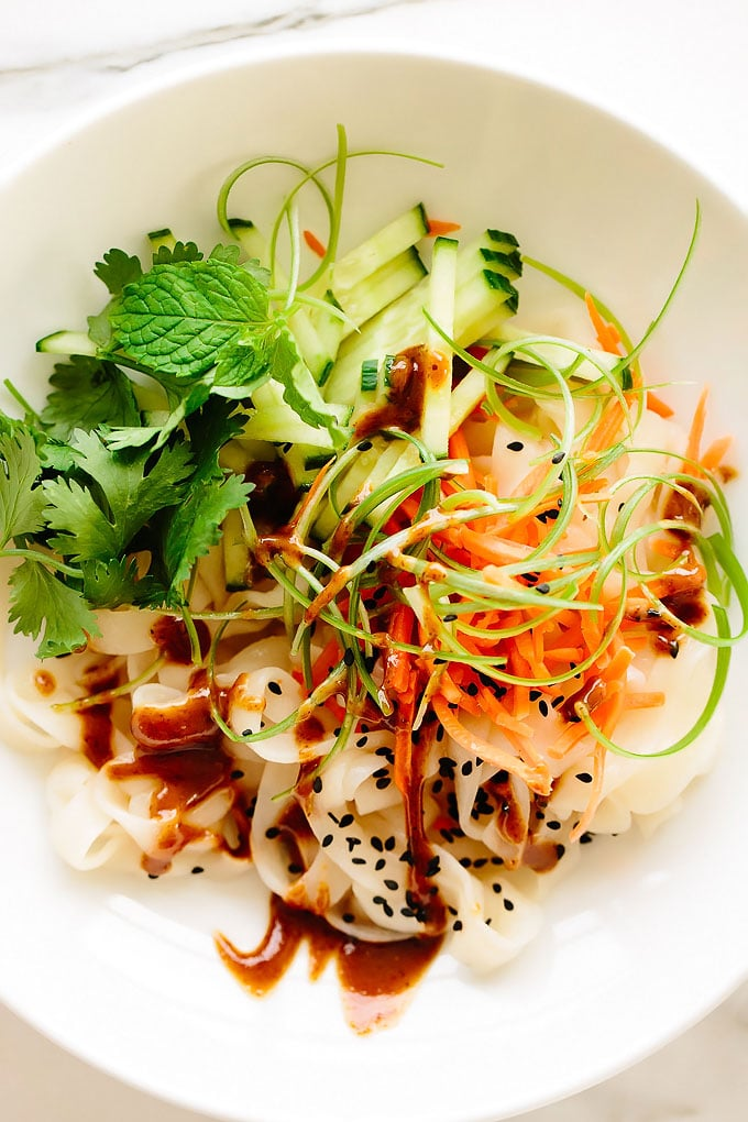 Vegan Summer Roll Noodles