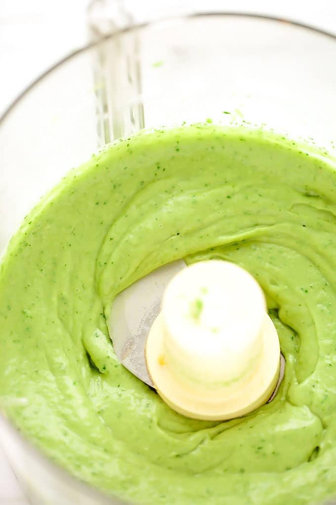 Festive 5-Minute Creamy Avocado Dip