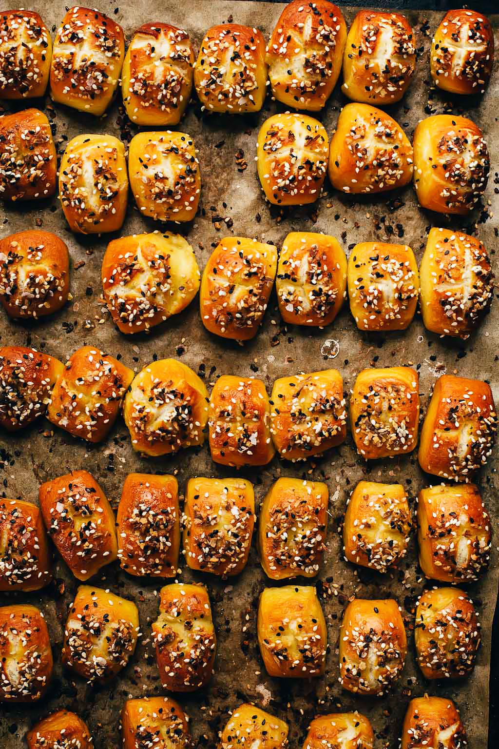 Everything Bagel Soft Pretzel Bites