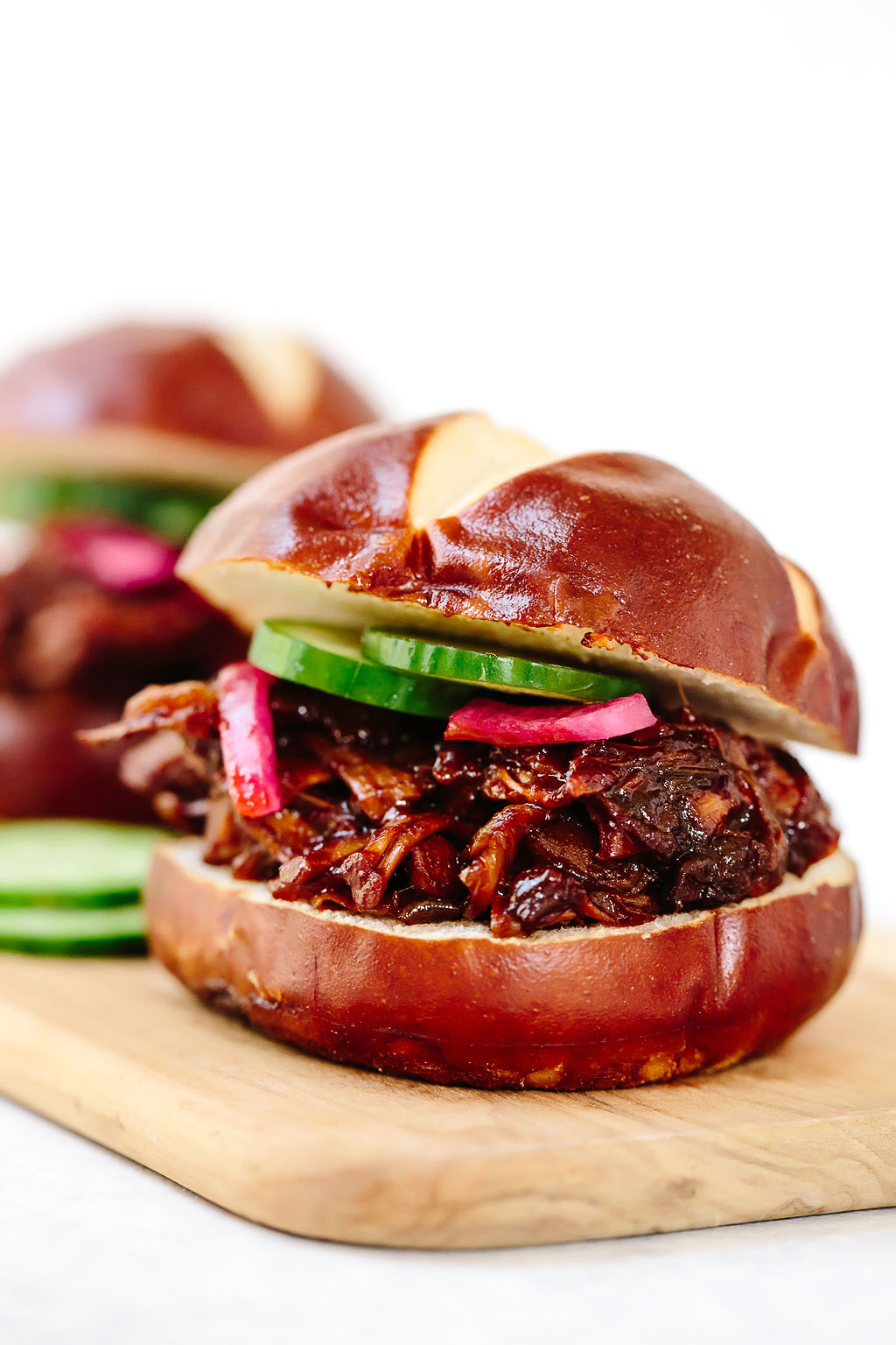 Vegan BBQ Pulled Pork