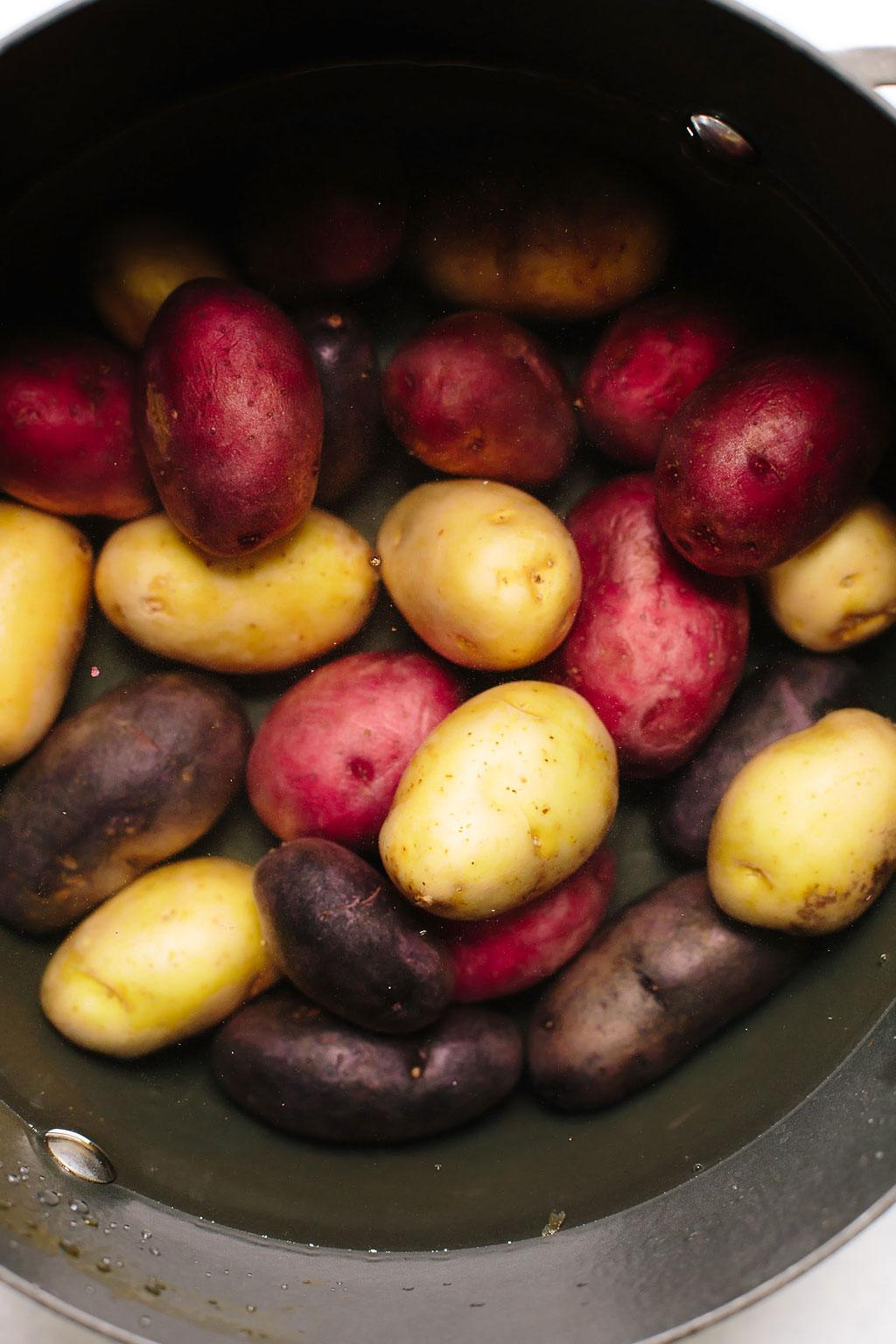 Crispy BBQ Smashed Potatoes