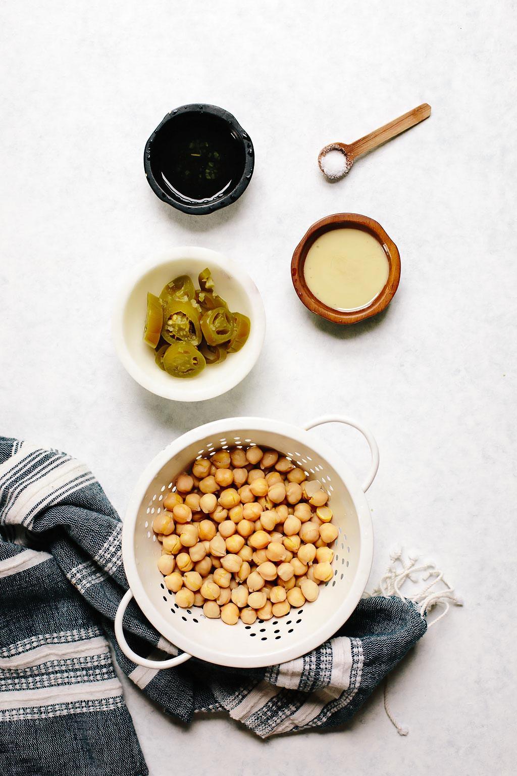 Pickled Jalapeño Hummus