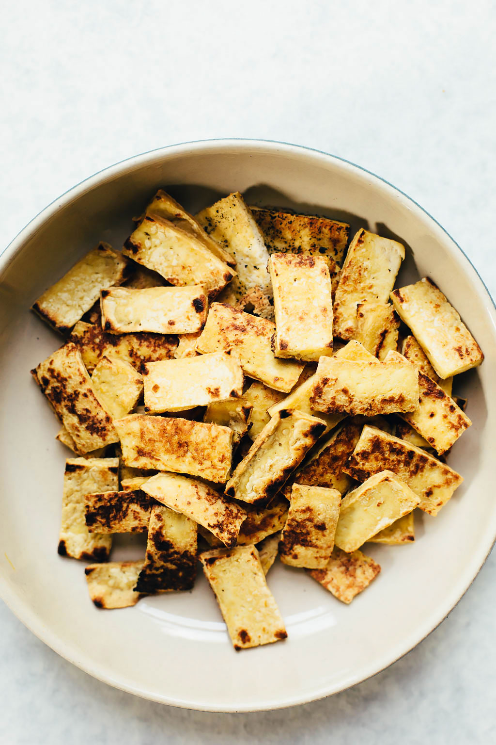 Sticky Spicy Almond Butter Tofu