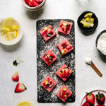 Vegan Strawberry Lemonade Bars
