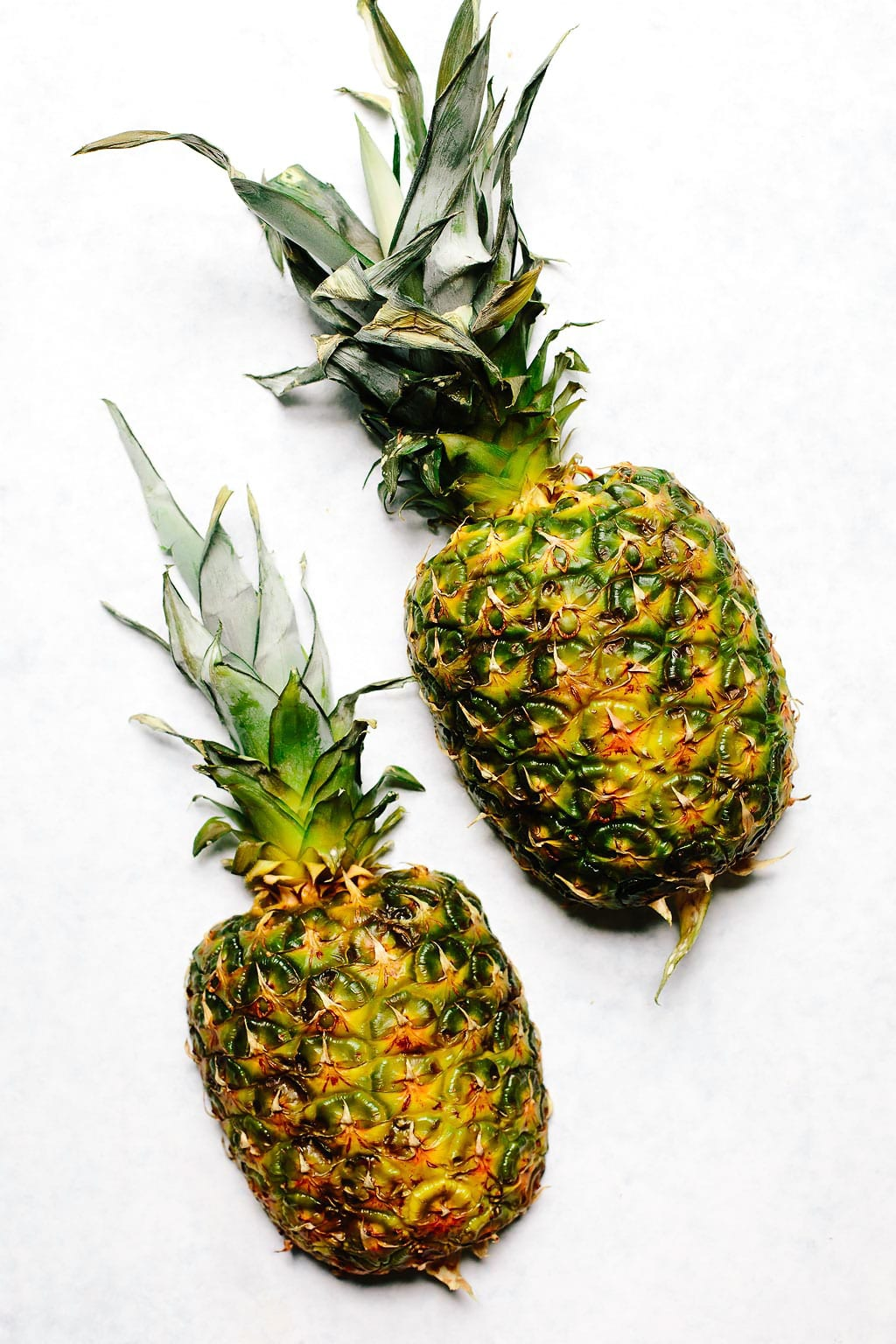 Pineapple Cut in Half