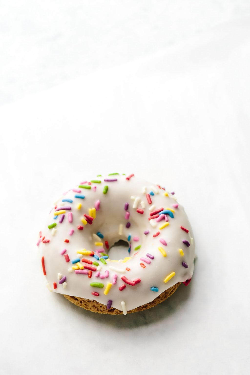 Vegan Vanilla Spelt Donuts