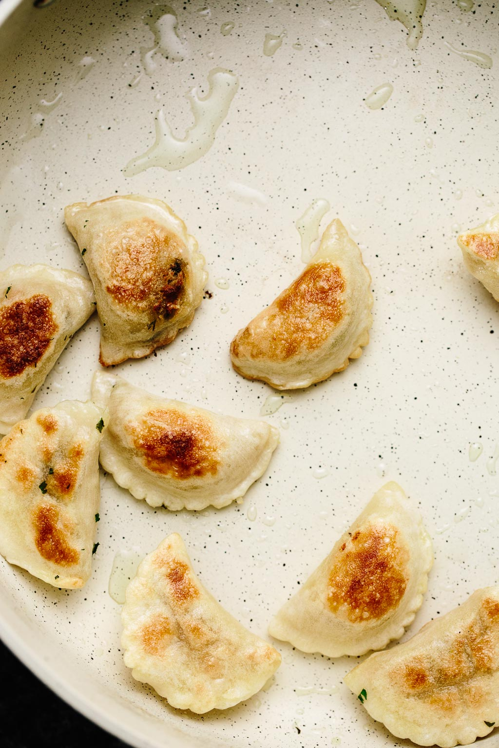 Pan-Fried Nasoya Dumplings