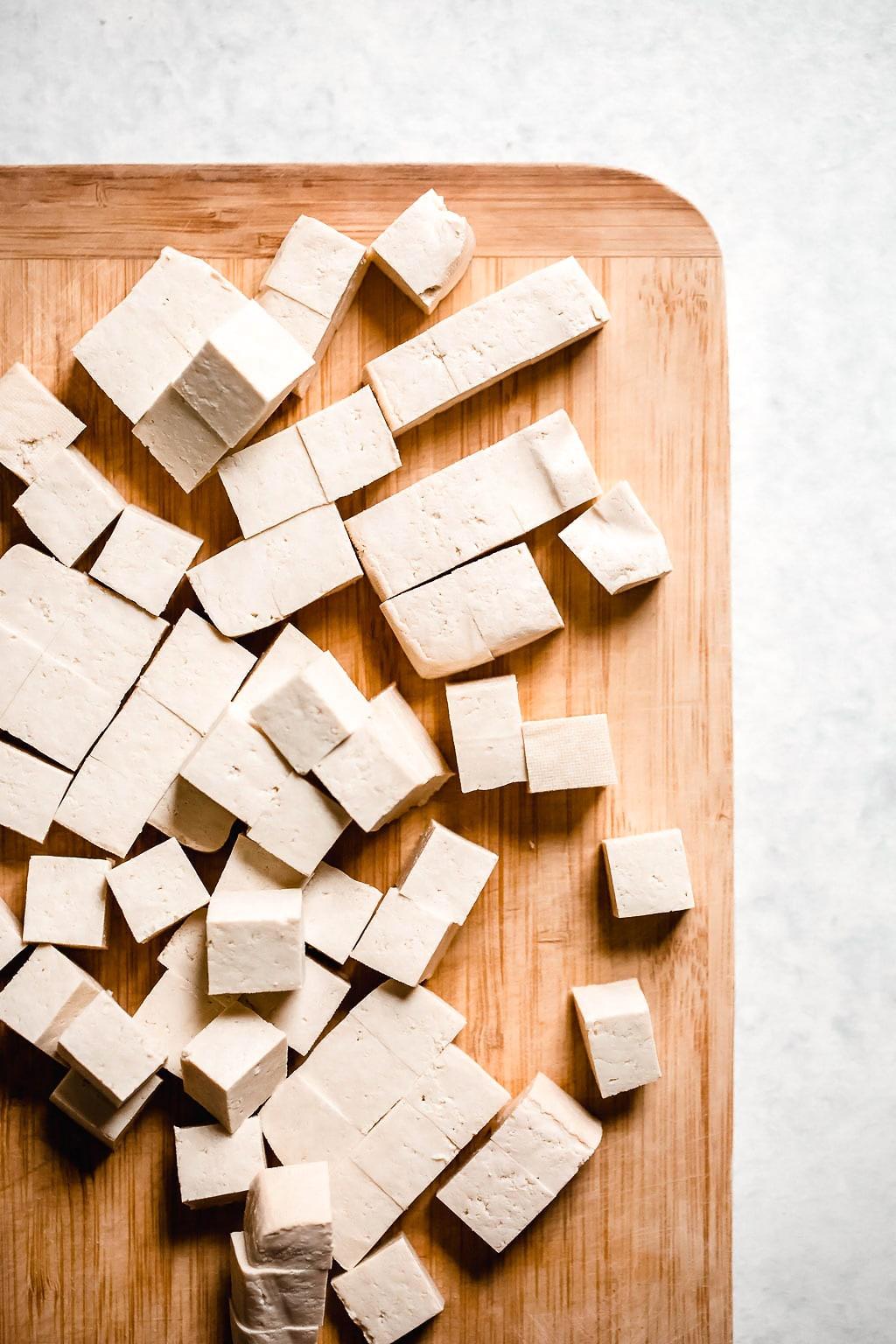 Cubed Tofu Tacos