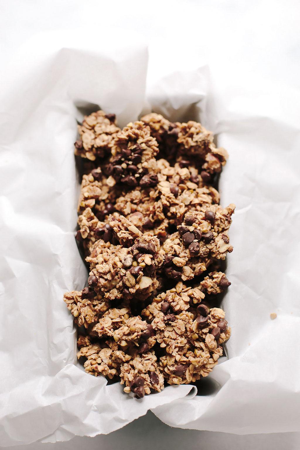 Vegan Nutella Granola