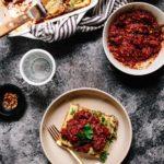 Vegan Lasagna Bolognese