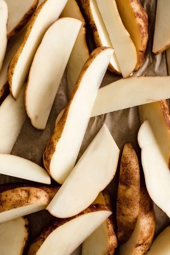 Vegan Potato Wedges