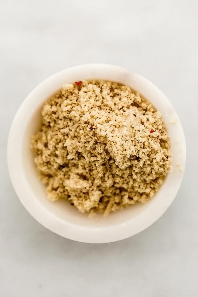 Spicy Pinenut Parmesan