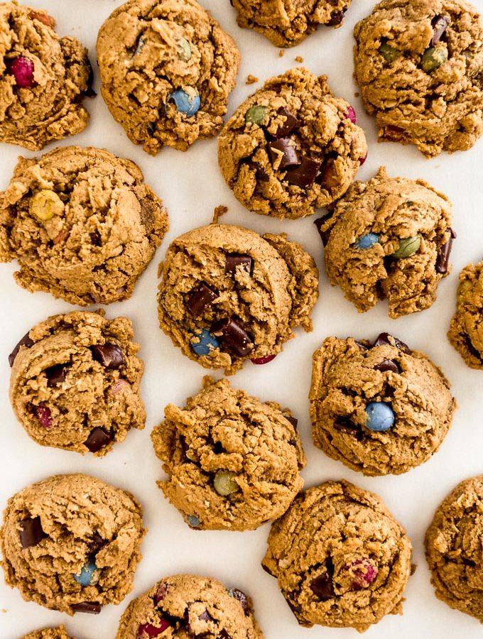 Vegan GF Monster Cookies